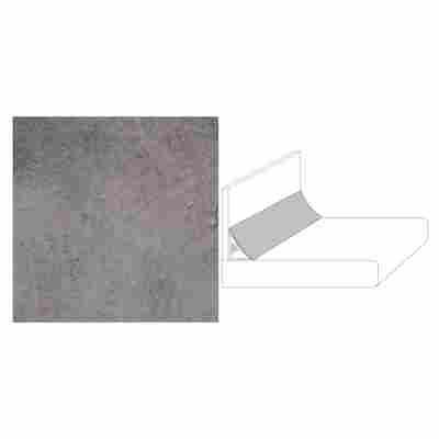 "Wandanschlussprofil ""Plus"" Copperfield grau 590 x 20 x 30 mm"