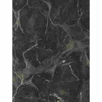 """Wandanschlussprofil """"Plus"""" Marmor Verde schwarz/weiß 590 x 20 x 30 mm"""