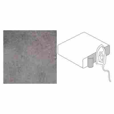 "Dekorkante ""GetaLit flex"" Copperfield grau 650 x 44 x 0,3 mm 2 Stück"