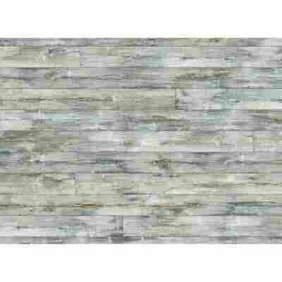 Glasrückwand 'WandArt vitre' 80 x 58,5 cm cottage planks