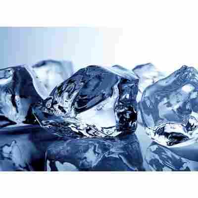Glasrückwand 'WandArt vitre' 80 x 58,5 cm ice cubes