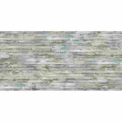 Glasrückwand 'WandArt vitre' 120 x 58,5 cm cottage planks