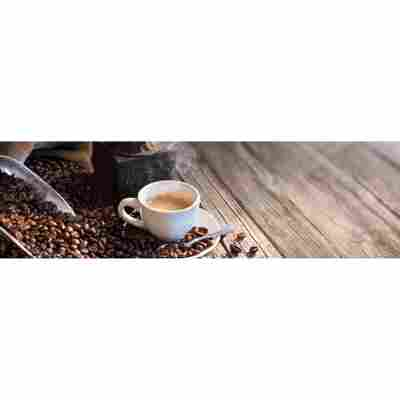Kompaktschichtstoff 'WandArt easy' 200 x 58,5 cm coffee beans