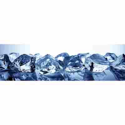 Kompaktschichtstoff 'WandArt easy' 200 x 58,5 cm ice cubes