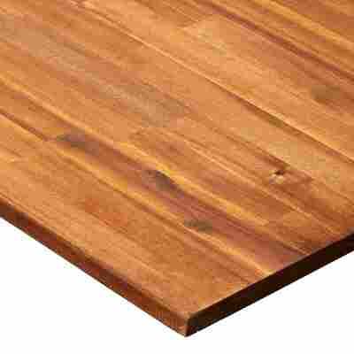 Massivholzplatte Akazie geölt 2400 x 600 x 26 mm