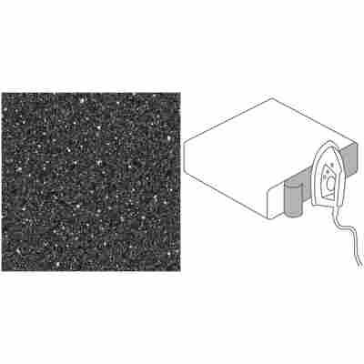 Kantenumleimer 'GetaLit flex' Steinoptik schwarz 65 x 4,4 cm, 2 Stück