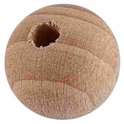Holzkugel Buche gebohrt 15 mm 25 Stück