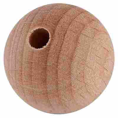 Holzkugel Buche gebohrt 20 mm 20 Stück