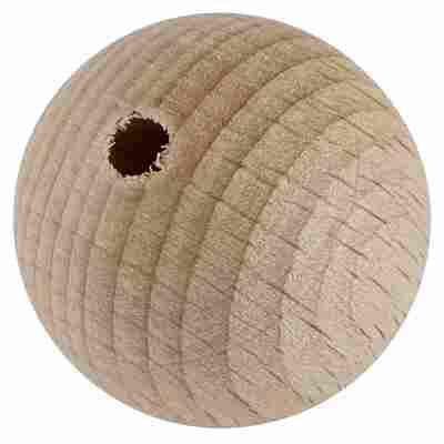 Holzkugel Buche gebohrt 25 mm 15 Stück