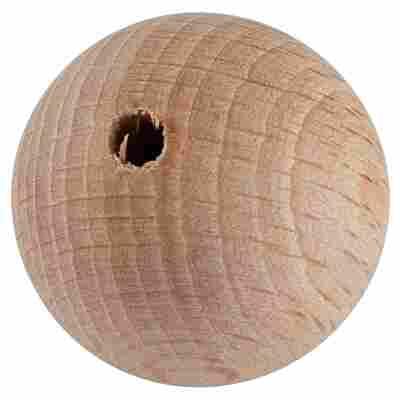 Holzkugel Buche gebohrt 30 mm 10 Stück