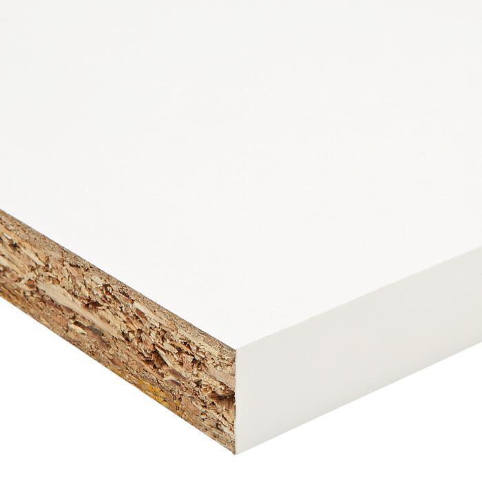 Mobelbauplatte Weiss 2600 X 19 X 500 Mm ǀ Toom Baumarkt
