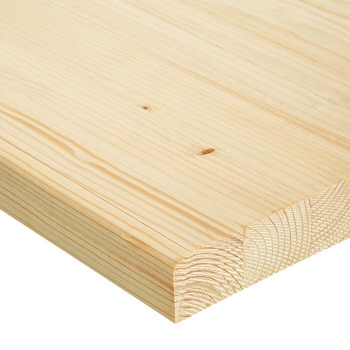Do It Wood Arbeitsplatte Fichte Massiv 2000 X 600 X 40 Mm ǀ Toom Baumarkt