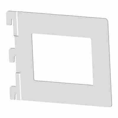 Single-Bücherbügel weiß 153 x 20 x 117 mm