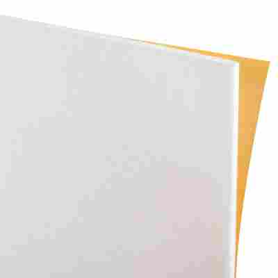 Filzzuschnitt selbstklebend weiß 10 x 10 cm
