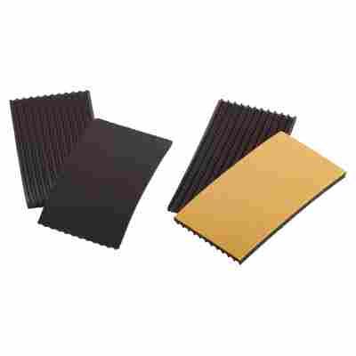 Antivibrations-Pads-Set schwarz 70 x 35 mm 4-tlg.