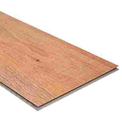 Vinyl-Designboden 'Eiche Sägerau hell' 1219,2 x 177,8 x 5 mm 8 Stück