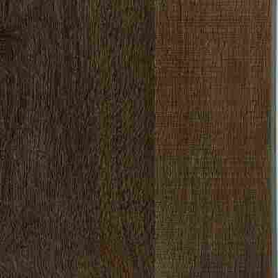 Vinyl-Designboden 'Eiche Sägerau dunkel' 1219 x 178 x 5,0 mm