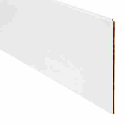 "Kurzpaneele ""Classic Weiß"" 130 x 30 x 1 cm 6 Stück"