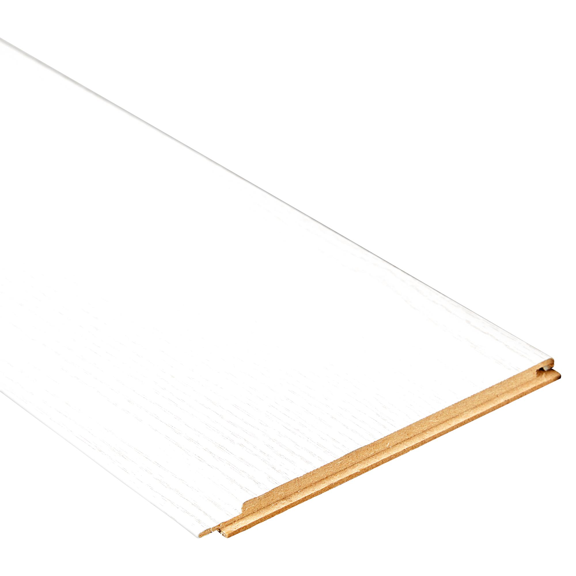 Bevorzugt B1 Paneele Esche weiß 260 x 15 x 0,8 cm 7 Stück ǀ toom Baumarkt JA26