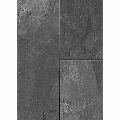 Laminat 'Canyon' Ölschiefer dunkelgrau 8 mm