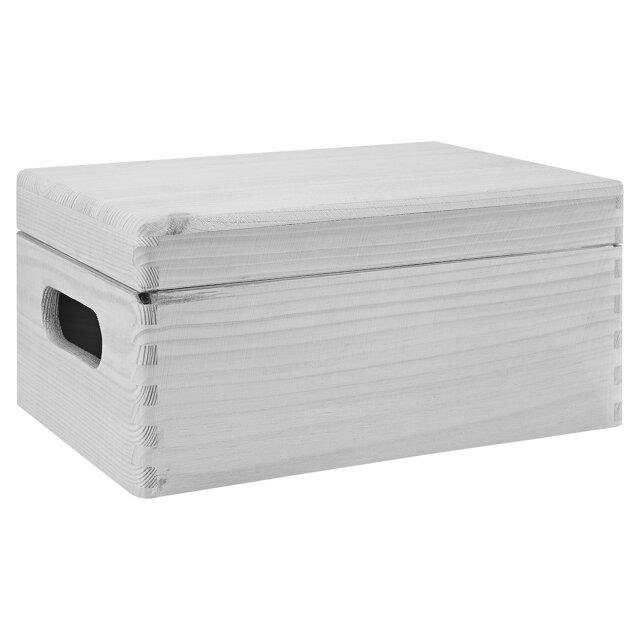 Aufbewahrungsbox Kiefer 40 X 30 X 24 Cm ǀ Toom Baumarkt