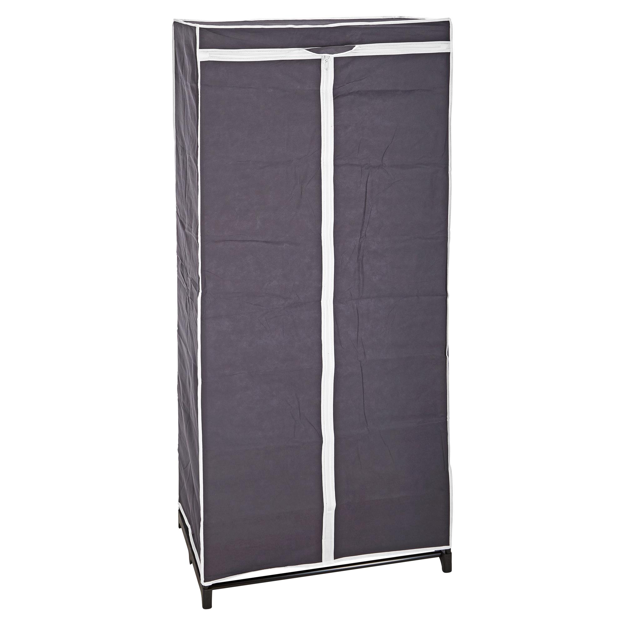 Textilkleiderschrank Anthrazit 150 X 70 X 45 Cm ǀ Toom Baumarkt