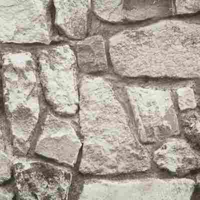 Vliestapete 10,05 x 0,53 m Bruchstein grau