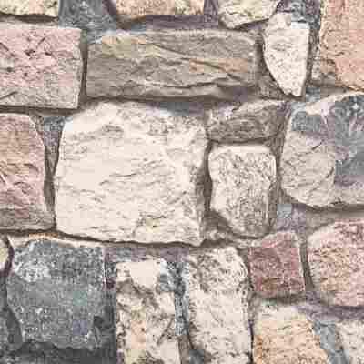 Vliestapete 10,05 x 0,53 m Buchstein braun