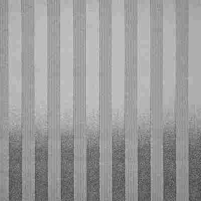 """Strukturprofiltapete """"Streifen"""" silbern"""