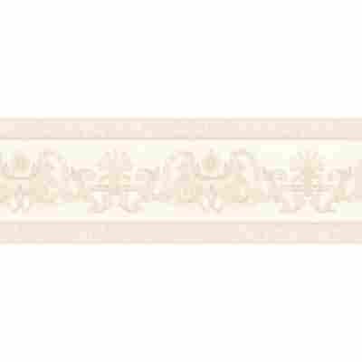"Papierbordüre ""Hermitage 6"" Ornamente beige metallic 5 x 0,17 m"