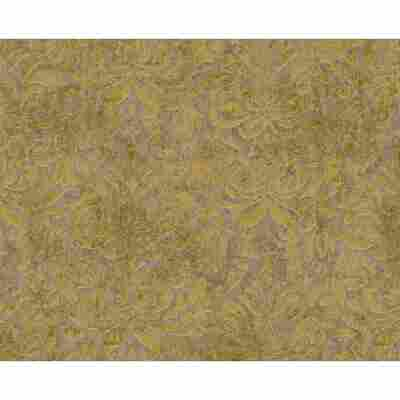 "Vliestapete ""Bohemian"" Ornamente braun/gelb metallic 10,05 x 0,53 m"