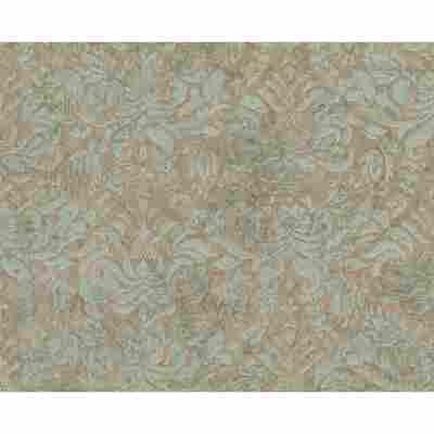 "Vliestapete ""Bohemian"" Ornamente braun/grün metallic 10,05 x 0,53 m"