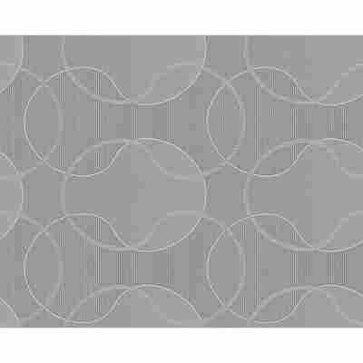 "Vliestapete ""Cocoon"" Ornamente grau metallic 10,05 x 0,53 m"