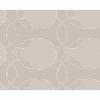 "Vliestapete ""Cocoon"" Ornamente beige/creme metallic 10,05 x 0,53 m"