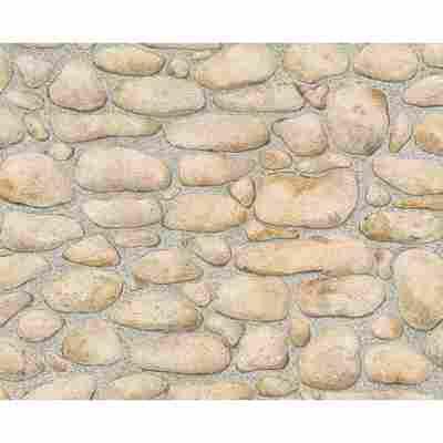 """Papiertapete """"Dekora Natur 3"""" Steine braun 10,05 x 0,53 m"""