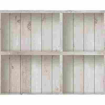 """Papiertapete """"Dekora Natur 6"""" Holzkisten beige/braun/creme 10,05 x 0,53 m"""
