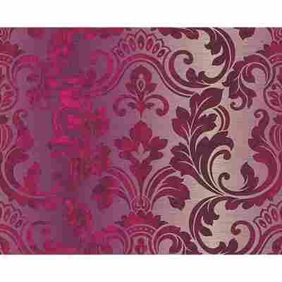 """Vinyltapete """"Hollywood"""" Ornamente violett 10,05 x 0,53 m"""