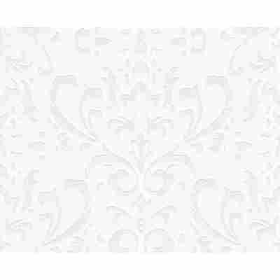 "Vliestapete ""Naf Naf"" Ornamente weiß 10,05 x 0,53 m"