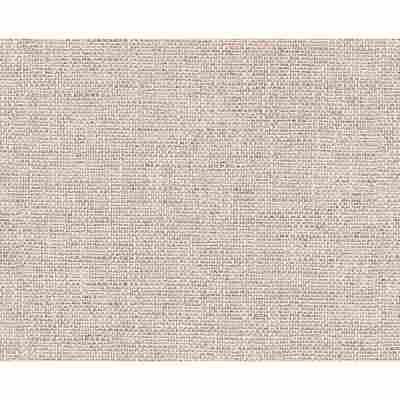"""Strukturprofiltapete """"Natural Textiles 2"""" Textil braun/weiß 10,05 x 0,53 m"""