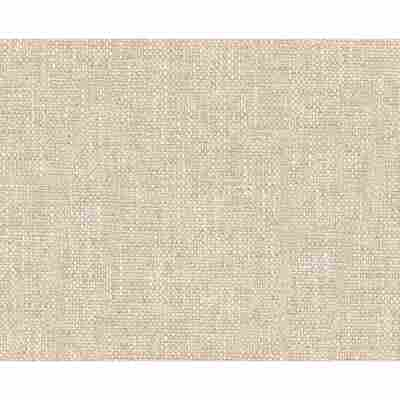 "Strukturprofiltapete ""Natural Textiles 2"" Textil beige 10,05 x 0,53 m"