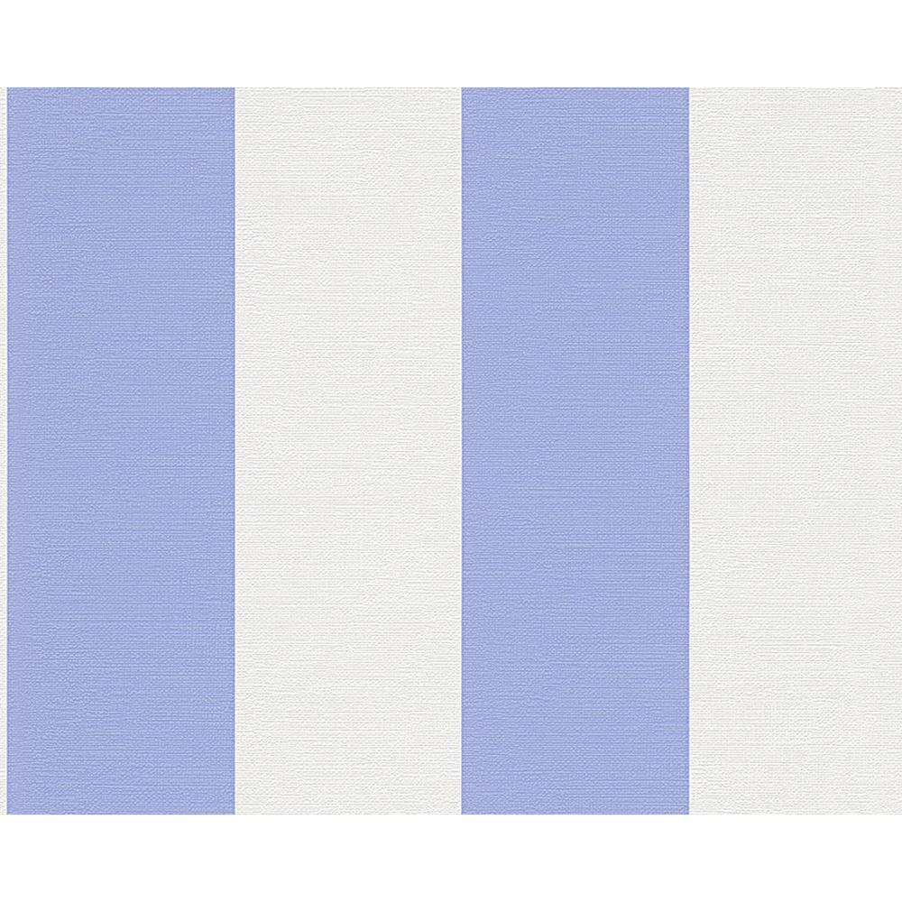 4,04€//1qm Vliestapete Streifen blau weiß Schöner Wohnen Marburg 31821
