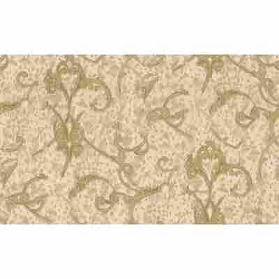 "Vliestapete ""Jungle"" Ornamente beige/creme metallic 10,05 x 0,53 m"