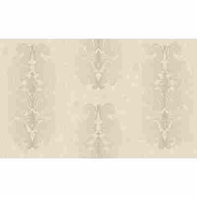 "Vliestapete ""La Diva"" Ornamente beige metallic 10,05 x 1,06 m"
