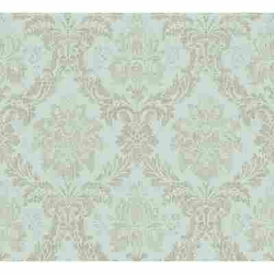 "Vliestapete ""Secret Garden"" Ornamente blau/braun 10,05 x 0,53 m"