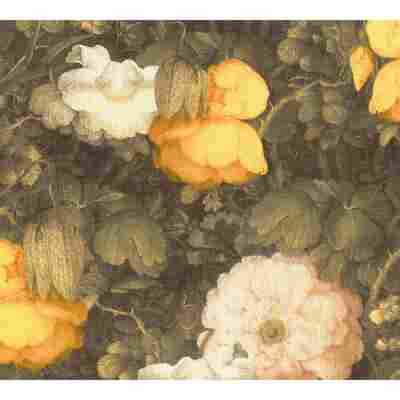 Vliestapete Metropolitan Stories 'Anke & Daan' Amsterdam, Blume Aquarell gelb 10,05 x 0,53 m