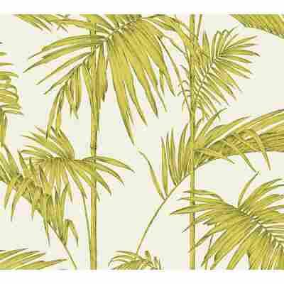 Vliestapete Metropolitan Stories 'Lola' Paris, Palmgras hellbeige-grün 10,05 x 0,53 m