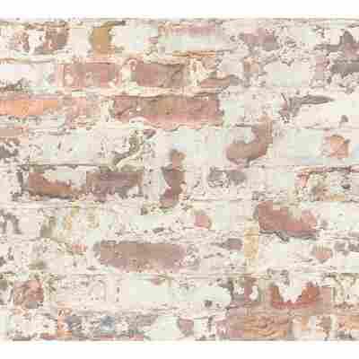 Vliestapete Metropolitan Stories 'Paul Bergmann' Berlin, Mauerwerk ocker-beige 10,05 x 0,53 m