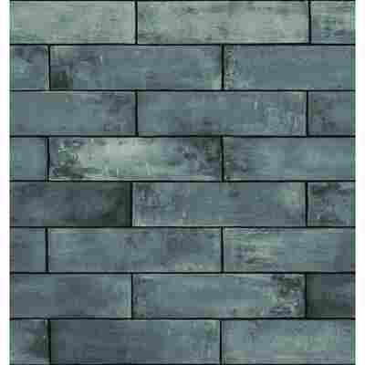 Vliestapete 'Ceramics' asmant-grau 400 x 67,5 cm