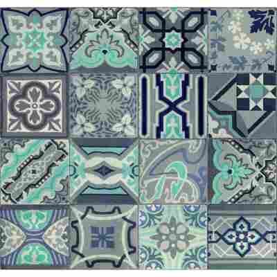Vliestapete 'Ceramics' simenta-mehrfarbig 400 x 67,5 cm