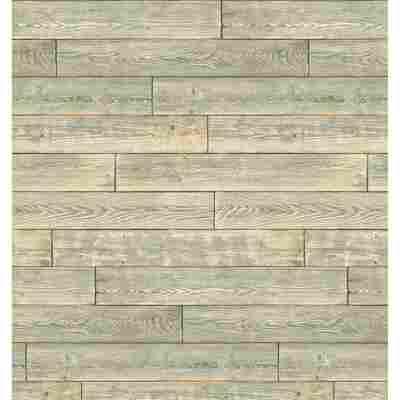 Wandbelag 'Ceramics' shabby-wood-braun 400 x 67,5 cm